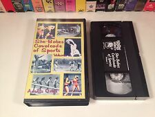She-Babes Cavalcade Of Sports Vol. 1 Rare VHS Vintage Clips Roller Derby Boxing