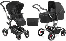 New Jane Epic pushchair with micro carrycot black chrome s49 with bag & pvc 0M+