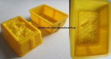 1 Piece Rectangle Honey Beehive Bar Silicon Soap Chocolate Jelly Mold Molder
