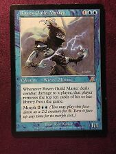 Raven Guild Master SCOURGE   VO  MTG PLAYED (see scan)