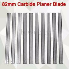 10PCS TCT Carbide Reversible Planer Blade 82mm for DEWALT MAKITA B&D HITACHI