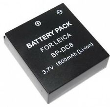 BP-DC8 BPDC8 18706 Battery for Leica X1 Camera
