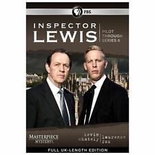 Masterpiece Mystery:Inspector Lewis Pilot Through Series 6(DVD,14-Disc Set)1-6 N