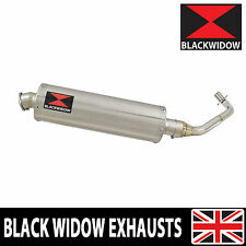 Piaggio Vespa ET4 125 1996-2005 Exhaust System Oval Stainless Silencer 400SS