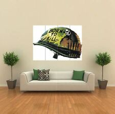 FULL METAL JACKET HELMET NEW GIANT LARGE ART PRINT POSTER PICTURE WALL G087