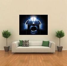 DJ WITH HEADPHONES BLUE NEW GIANT POSTER WALL ART PRINT PICTURE G334