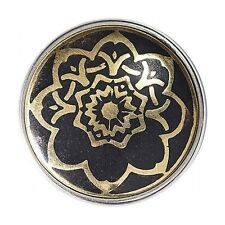 Nouveau Noosa Amsterdam Chunk crm-186-01 tranches Flower of Life Black Gold