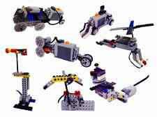 Brick Kits - Build 7 Motorized Models using bricks and more!