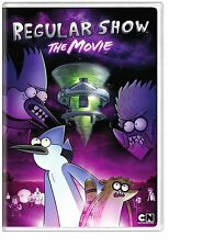 REGULAR SHOW : THE MOVIE (Nickelodeon) -  DVD - REGION 1 - SEALED
