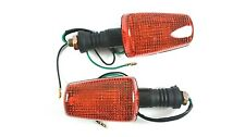 Yamaha Black Turn Signals Pair Flasher Blinker Winker SRX TDR 250 TDM 850 TW 200