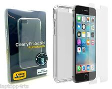 OtterBox TPU Skin Case Cover + Alpha Glass Screen Protector For iPhone 5s 5 & Se