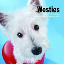 WEST HIGHLAND TERRIER WESTIE 2014 SQUARE CALENDAR BRAND NEW AND SEALED BY MAGNUM