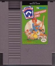 LITTLE LEAGUE BASEBALL CLASSIC NINTENDO SYSTEM GAME ORIGINAL NES HQ