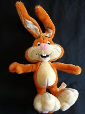 "NESQUIK Plush Rabbit Posable Ears 18"" Toy Network 2001 Nesquick"