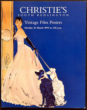 VINTAGE FILM POSTERS 1999 SABRINA - AUDREY HEPBURN UK AUCTION CATALOGUE