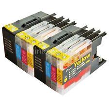 8 Cartucce inchiostro per lc1280 XL mfc-j5910dw mfc-j6510dw mfc-j6710dw mfc-j6910dw