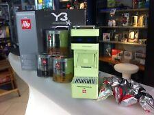 Macchina caffè illy Iperespresso Y3 touch Verde + promozione capsule omaggio