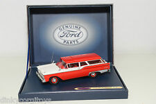 . MOTORHEADS4U 447 GENUINE PARTS FORD RANCH WAGON 1959 RED WHITE MINTBOXED RARE
