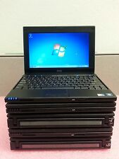 "lot of 5 Dell Latitude 2110 10"", Intel atom@1.83GHz 2GB RAM 160GB Win 7 
