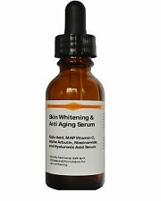 Advanced Skin Whitening Kojic Acid,MAP Vitamin C,Arbutin,Niacinamide,HA Serum