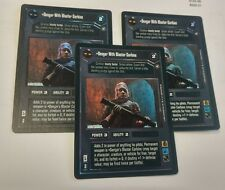 3 DENGAR WITH BLASTER CARBINE FOIL STAR WARS CCG LOT REFLECTIONS II 2 RARE
