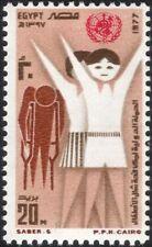 Egipto 1977 contra la polio/médico/salud/bienestar/Medicina/desactivado 1v (n44545)