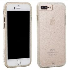Case Mate Tough 2 Layer Case for iPhone 7 Plus/6s/6 Plus Sheer Glam CHAMPAGNE