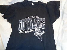 80's M tag XS fit VTG The Outlaws Band concert tour 1981 shirt SOFT THIN Florida