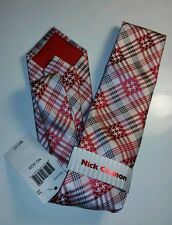 Nick Cannon Neck Tie Red New