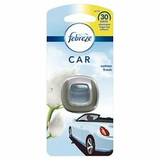 Febreze Car Clip On Air Freshener Cotton Fresh Eliminates Odour for 30 Days