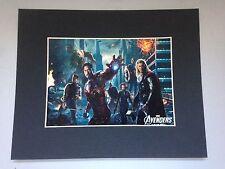 Reproduction Avengers 25 x 20 cm avec cadre noir cartonné