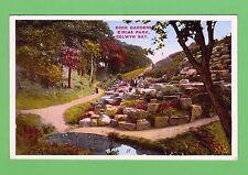 Dated 1941, Rock Garden Eirias Park, Colwyn Bay, Conwy, North Wales