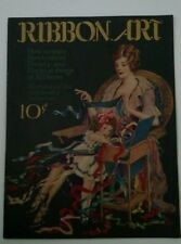 Vtg Ribbon Art Book Original Instructions Fashion 1920s Flappers Craft Ephermera
