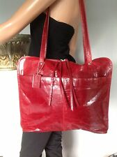 Latico Bag Purse Buiness Genuine Leather  Burgundy Women Tote College Chic Hip