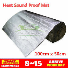 Mat Isolator 4X Large Sheets 6mm Insulation Foam Car Van Sound Proofing Fit Ford