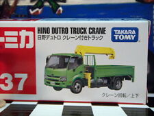 TOMICA #37 HINO DUTRO TRUCK CRANE NEW IN BOX