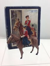 Timpo Lead HM The Queen Mounted On Horseback Figure 12216 Boxed Scale 1:32