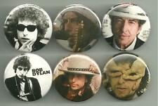 Bob Dylan 1.5 Inch  Pins Buttons Badges Lot 2