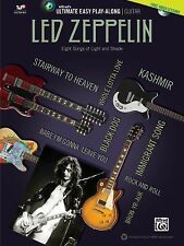 Ultimate Easy Guitar Play-Along -- Led Zeppelin: Easy Guitar TAB (Book & DVD) (A