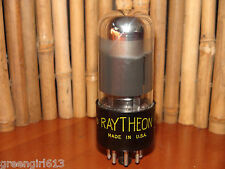 Vintage Smoked Chrome Raytheon 6V6  Stereo Tube Results = 79  Code 280 513