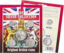 la Reine Elizabeth II Collection Argent British Pièces de monnaie Shilling,