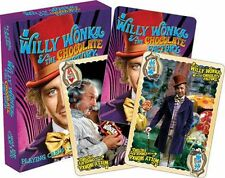 WILLY WONKA - PLAYING CARD DECK - 52 CARDS NEW - CLASSIC MOVIE 52477