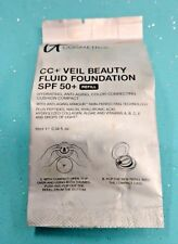 New IT COSMETICS CC+ Veil Beauty Fluid SPF 50+ Foundation REFILL .34oz ~FAIR~