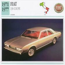 1971-1977 FIAT 130 COUPE Classic Car Photograph / Information Maxi Card