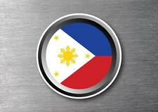 Philippines flag sticker quality 7 year water & fade proof vinyl car ipad