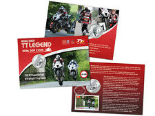 Michael Dunlop Special Gift Pack Isle of Man TT Legends 2016 50p Coin (AH71)