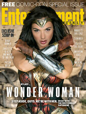 VHTF WONDER WOMAN ENTERTAINMENT WEEKLY COMIC CON 2016 SDCC EXCLUSIVE GAL GADOT