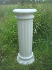 "LATEX RUBBER MOULD MOLD  + FIBREGLASS CASING OF A  PILLAR / COLUMN 19"" HEIGHT"
