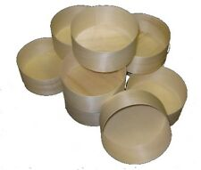 Medium Wooden Cheese Boxes - pack of 10