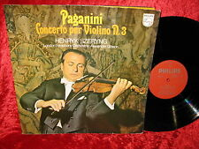 1971 EXC+ PHILIPS 6500 175 STEREO PAGANINI VIOLIN CONCERTO 3 SZERYNG LSO GIBSON